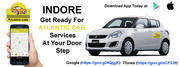 Cab services in Indore -Atlantic Cab