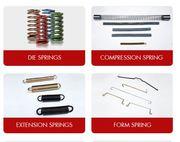 Compression Springs - Torsion Springs,  Form Springs,  Wire Bending Comp