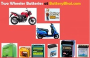 Buy Scooter/Bike Battery Online at Best Prices in India