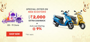 EID Special Offer on New Scooters by Droom