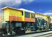 Track railway car VPO-3-3000