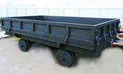 Railway platform trailer (truck PT-3)