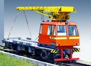 Craned track maintenance vehicle MPT- 6